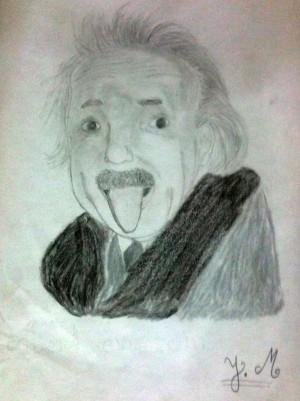 أيشتاين - التلميذ يحيى مدرك - إعدادية الجولان بالرباط