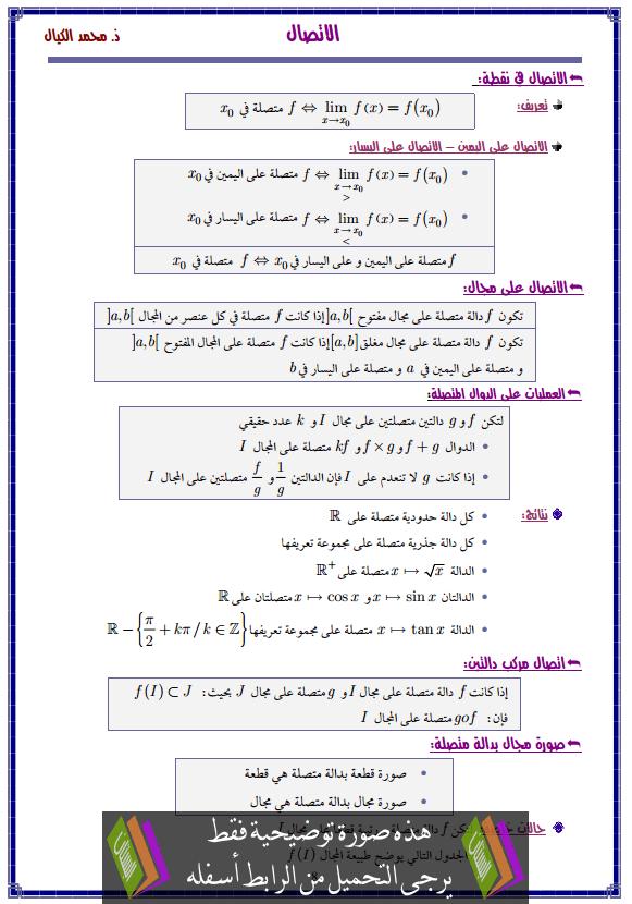 درس الاتصال – الثانية باكالوريا علوم التدبير المحاسباتي